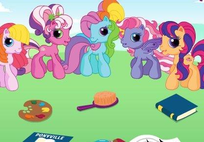 Игры расти пони