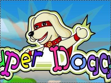 Онлайн игра Супер-пес: Раскраска - рисовалка   272x363